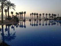Dubai atlantis hotell Arkivfoto