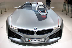 Dubai-Autoausstellung NOVEMBER-14-2011 Lizenzfreies Stockbild