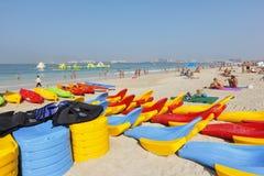 Dubai beach Stock Photography