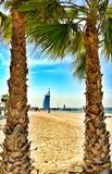 Dubai Beach stock photos