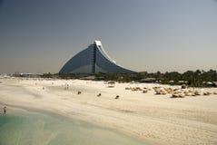 Dubai beach Royalty Free Stock Photography