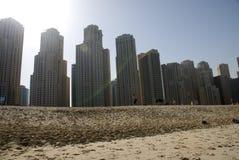 Dubai beach Royalty Free Stock Image