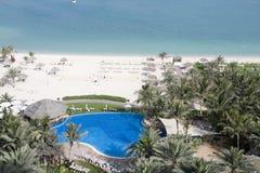Dubai - Beach Resort Royalty Free Stock Photography
