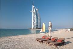 Dubai beach,UAE Royalty Free Stock Image