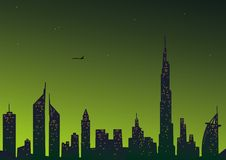 Dubai Beautiful city vector illustration