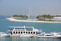 dubai brzegowy jumeirah zdjęcie royalty free