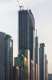Dubai buildings Royalty Free Stock Photos