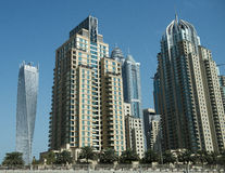 Dubai Buildings Royalty Free Stock Photography