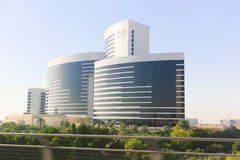 DUBAI buildings, U.A.E Royalty Free Stock Images