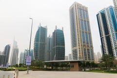 DUBAI buildings, U.A.E Stock Photography