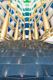Dubai Burj Al Arab Interior Royalty Free Stock Images