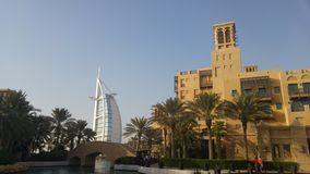 Dubai burj Al-Araber lizenzfreies stockfoto