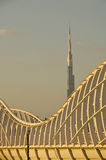 Dubai burj khalifa Stock Photography