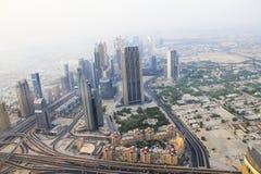 dubai burj khalifa el edificio ms alto del mundo foto de archivo