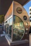Dubai Bus stop Stock Image