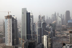 Dubai Business Bay Stock Image