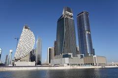 Dubai Business Bay Stock Photography