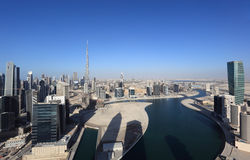 Dubai Business Bay Royalty Free Stock Photos