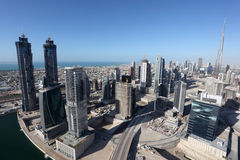 Dubai Business Bay Royalty Free Stock Photos