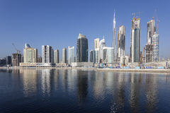 Dubai Business Bay Royalty Free Stock Images