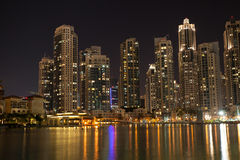 Dubai Business Bay Stock Photography