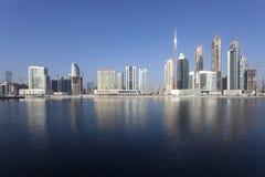 Dubai Business Bay Stock Images