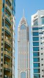 Dubai bygganden arkivfoto