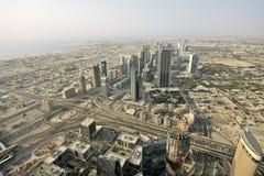 Dubai byggnader Royaltyfria Bilder