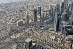 Dubai byggnader Royaltyfri Fotografi