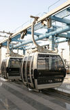 Dubai cable car Stock Images