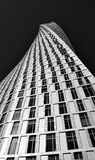 Dubai Cayan Tower. This shot was taken in Dubai Marina Stock Images