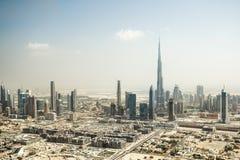 Dubai centrum Arkivfoto