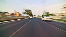 Dubai City Driving stock footage