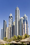 Dubai city, Marina District Royalty Free Stock Photo