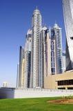 Dubai city, Marina District Stock Photo