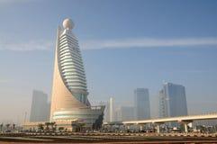 Dubai City Skyline. United Arab Emirates royalty free stock photos