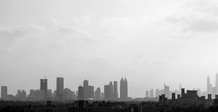 Dubai city. Royalty Free Stock Image
