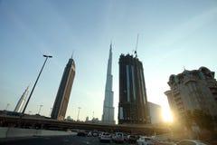 Dubai. City of Dubai in United Arab Emeriates Stock Images