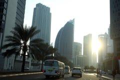 Dubai. City of Dubai in United Arab Emeriates Stock Image