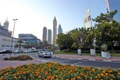 Dubai. City of Dubai in United Arab Emeriates Royalty Free Stock Photo