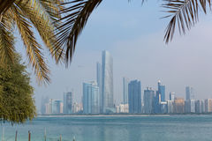 Dubai city view stock photo