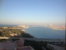 Dubai cityscape Royaltyfri Foto