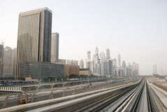 Dubai Cityscape Royalty Free Stock Photo