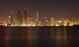 Dubai cityscape Royalty Free Stock Photos