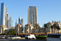 Dubai cityscape Royalty Free Stock Photography