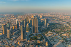 Dubai céntrico Foto de archivo libre de regalías