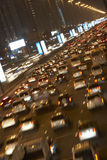 Dubai,Congestion At Night stock photography