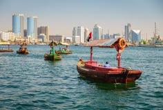 Dubai Creek imagenes de archivo