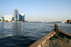 Dubai Creek Images stock