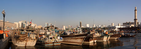 Dubai creek Royalty Free Stock Photos